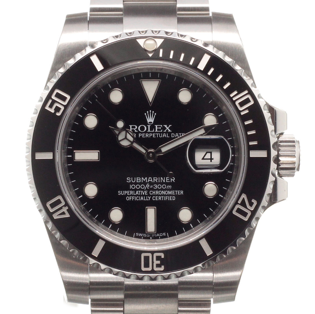 rolex submariner 116610ln kaufen chronext. Black Bedroom Furniture Sets. Home Design Ideas