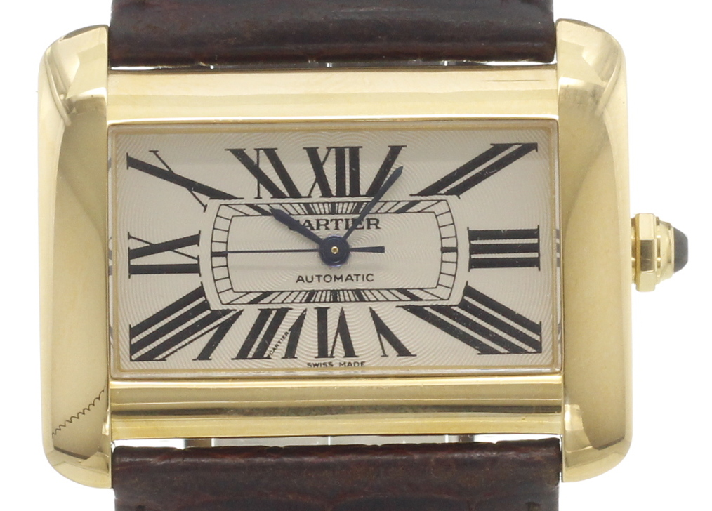 Cartier divan w6300856 for sale chronext for Cartier divan xl