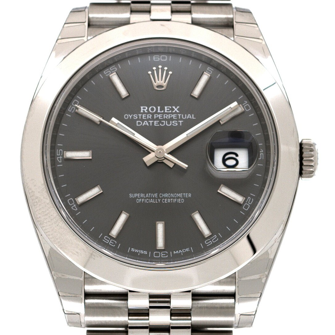 rolex datejust 126300 kaufen chronext. Black Bedroom Furniture Sets. Home Design Ideas