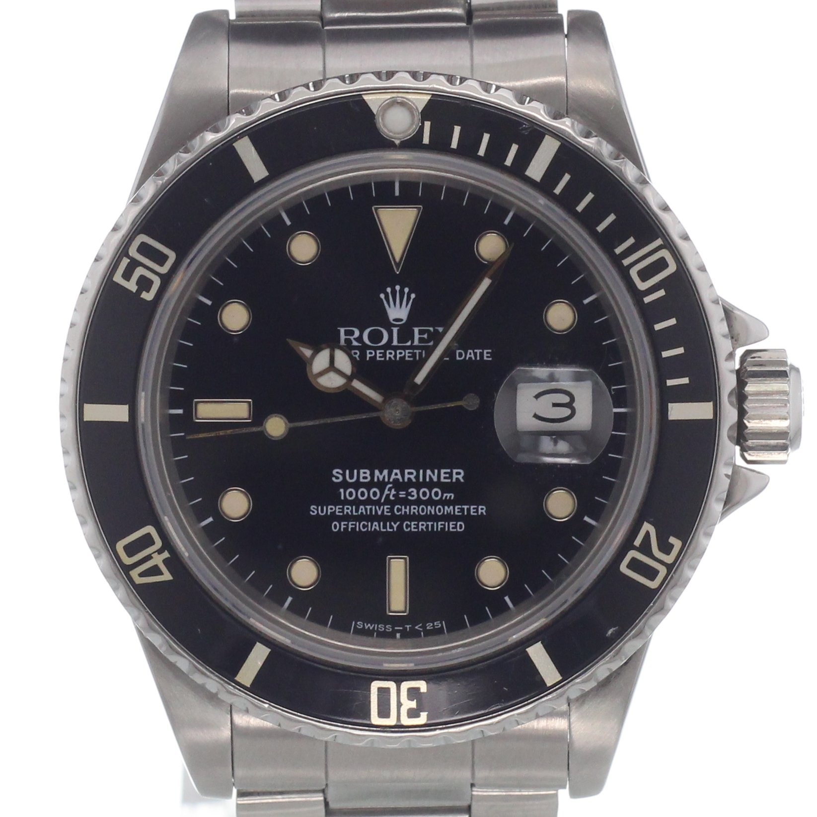 rolex submariner 16800 kaufen chronext. Black Bedroom Furniture Sets. Home Design Ideas