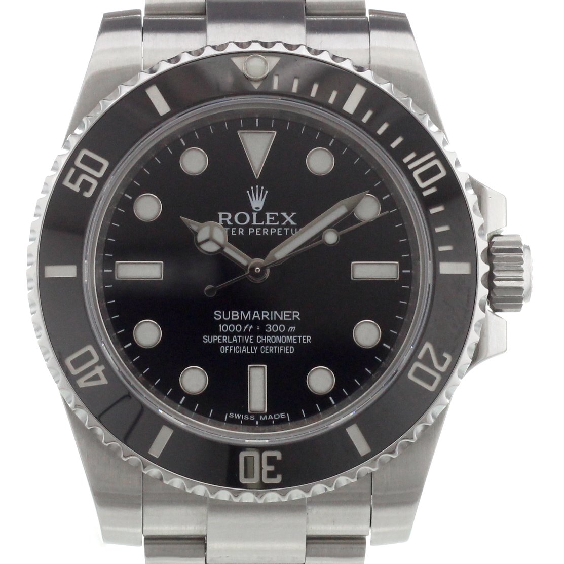 rolex submariner 114060 kaufen chronext. Black Bedroom Furniture Sets. Home Design Ideas
