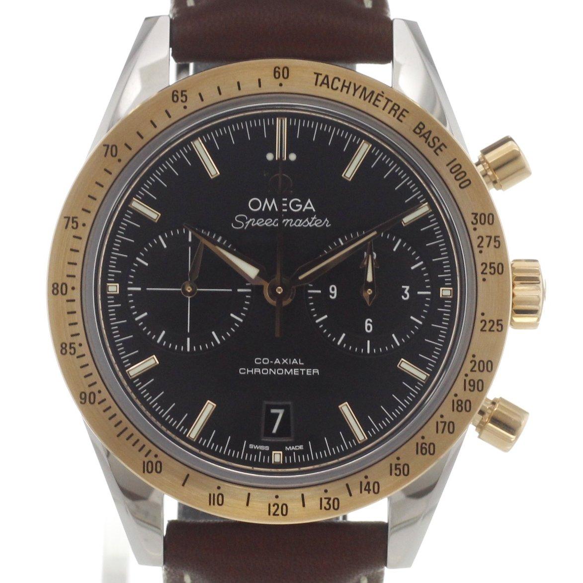 omega speedmaster 39 57 co axial chronograph kaufen chronext. Black Bedroom Furniture Sets. Home Design Ideas