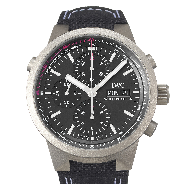 IWC GST Rattrapante Jan Ullrich Edition Titanium - IW371537