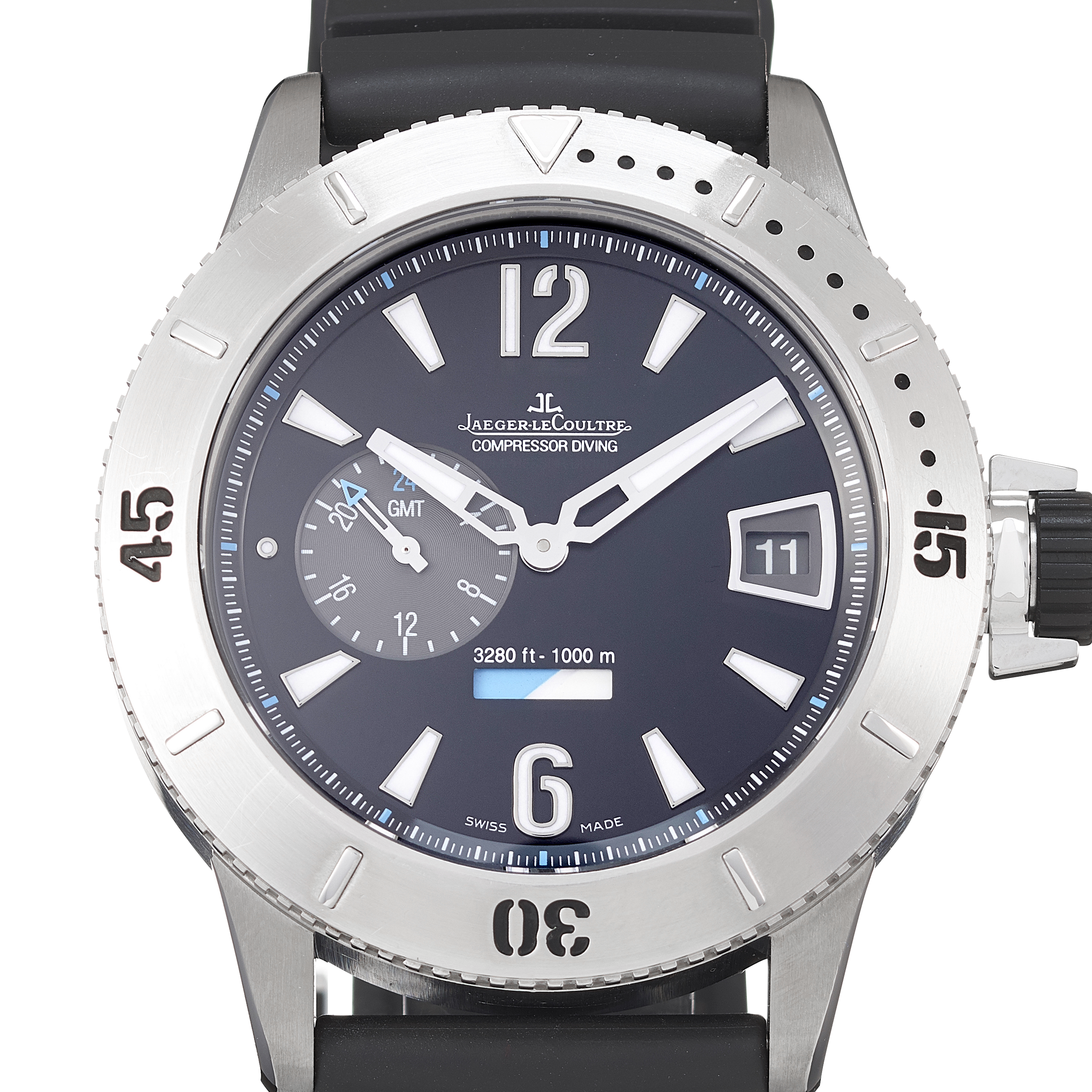Jaeger-LeCoultre Master Compressor Diving GMT Stainless Steel - 159.T.05