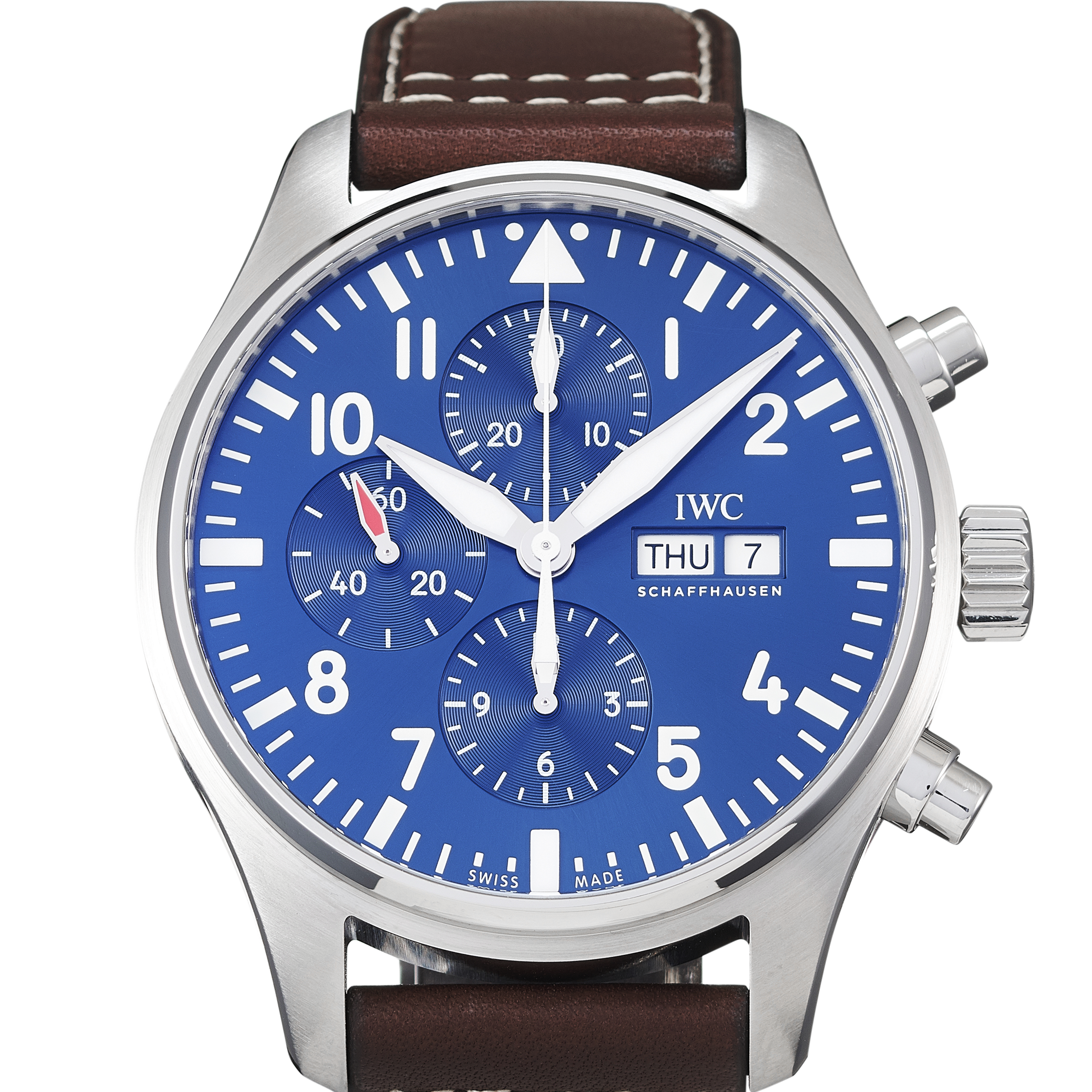 "IWC Pilot's Watch Chronograph Edition ""Le Petit Prince"" Stainless Steel - IW377714"