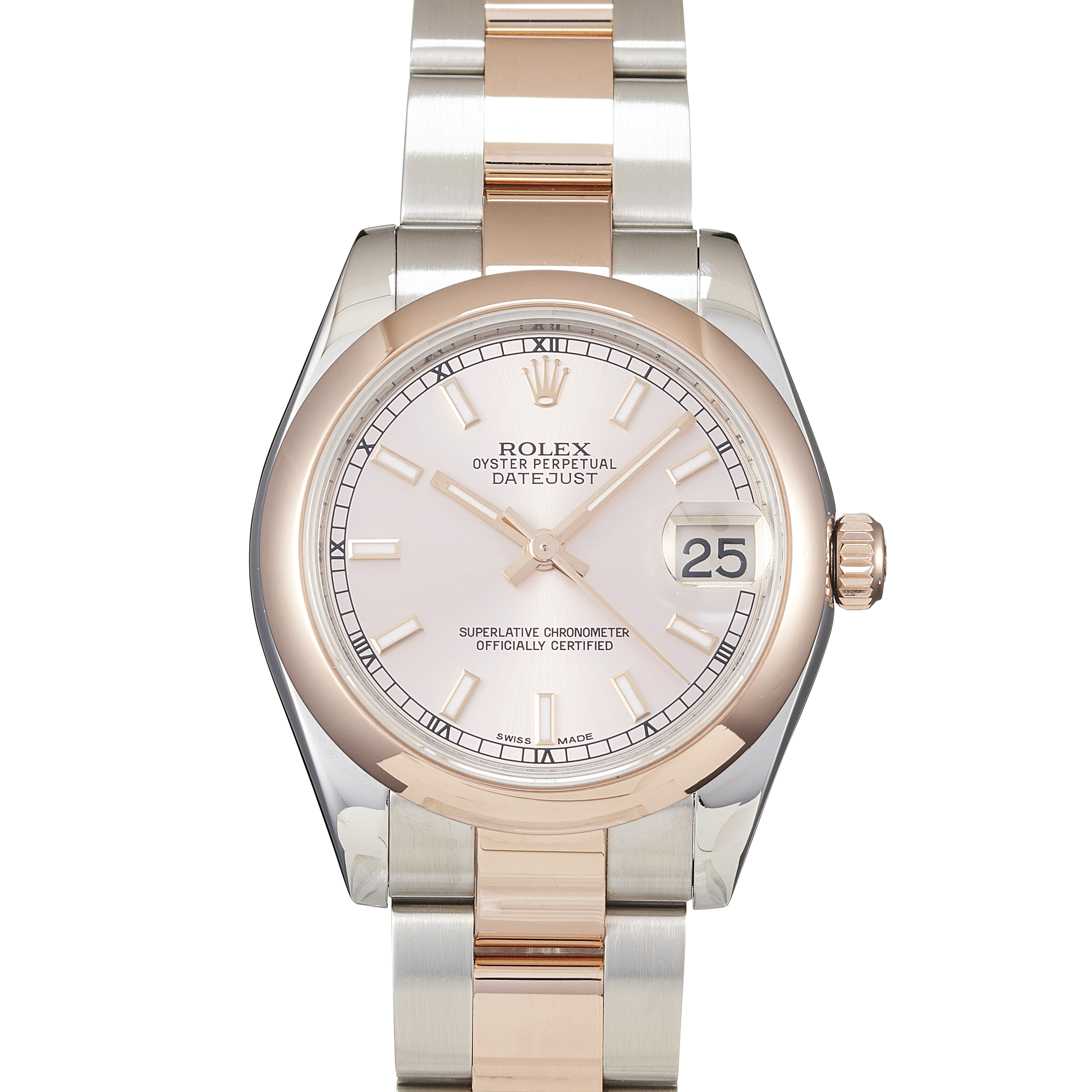 Rolex Datejust Stainless Steel & Rose Gold - 178241