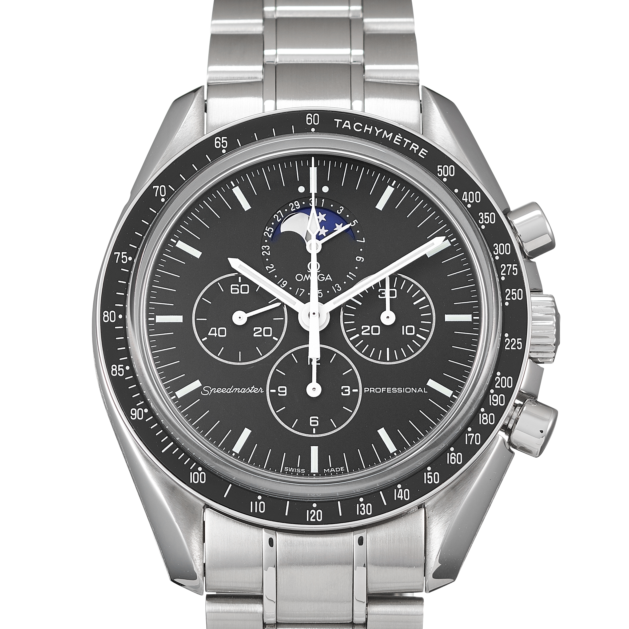 Omega Speedmaster Moonwatch Professional Chronograph Stainless Steel - 3576.50.00