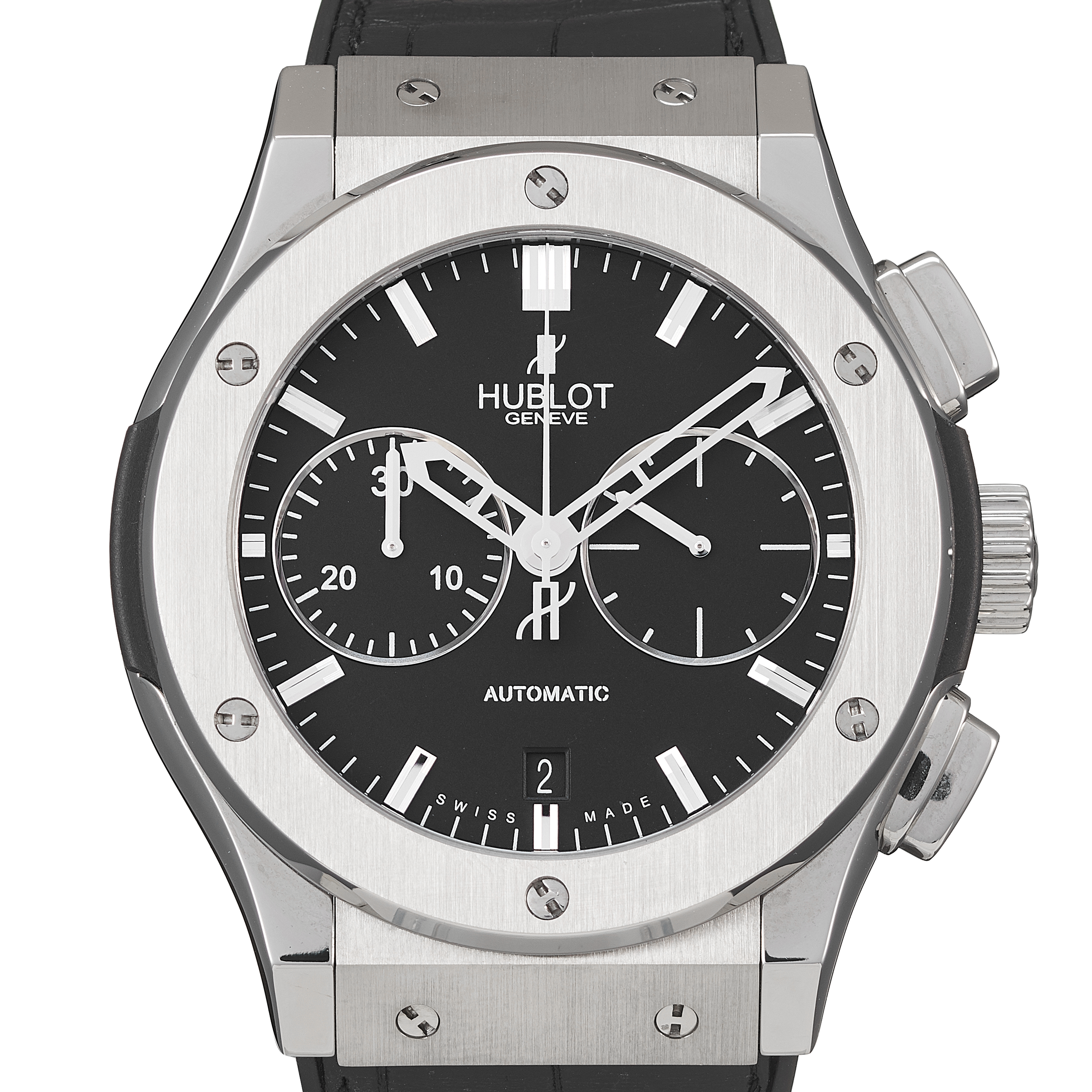 Hublot Classic Fusion Chronograph Stainless Steel - 521.NX1170.LR
