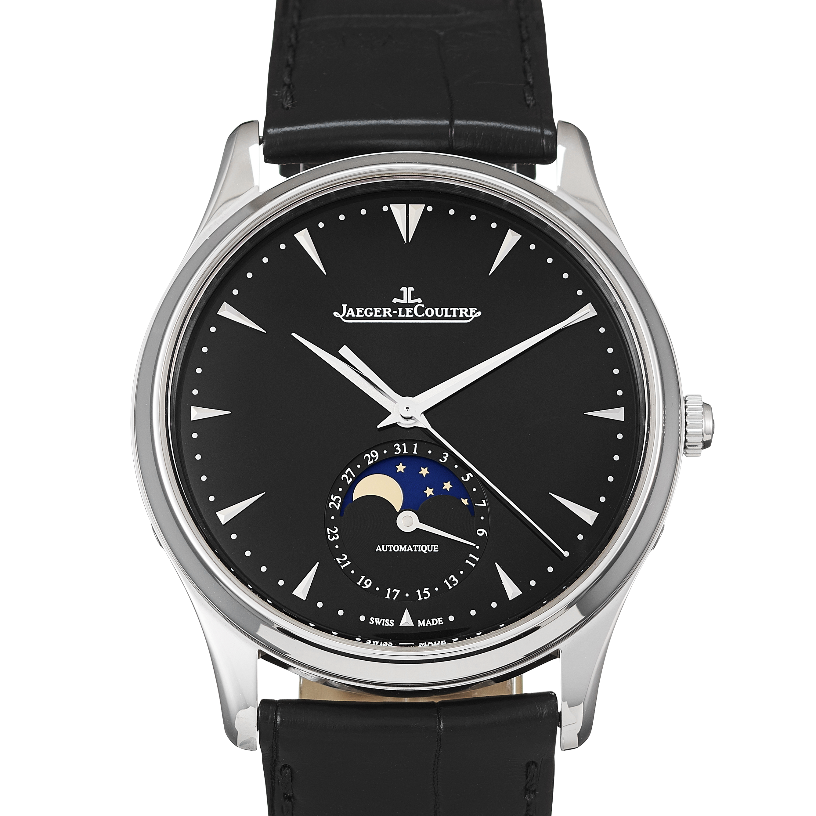 Jaeger-LeCoultre Master Ultra Thin Moon Stainless Steel - 1368470