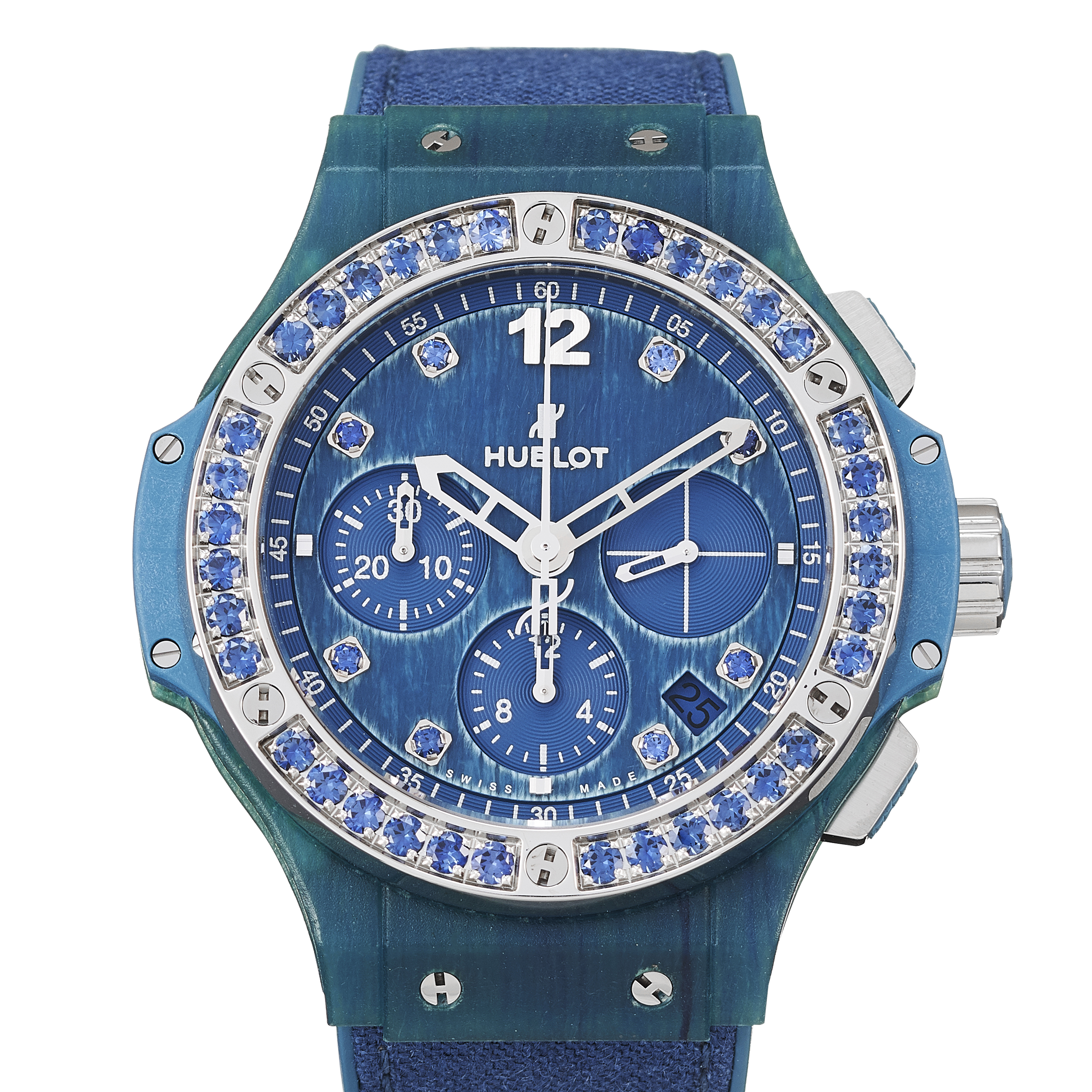 Hublot Big Bang Blue linen Stainless Steel - 341.XL.2770.NR.1201