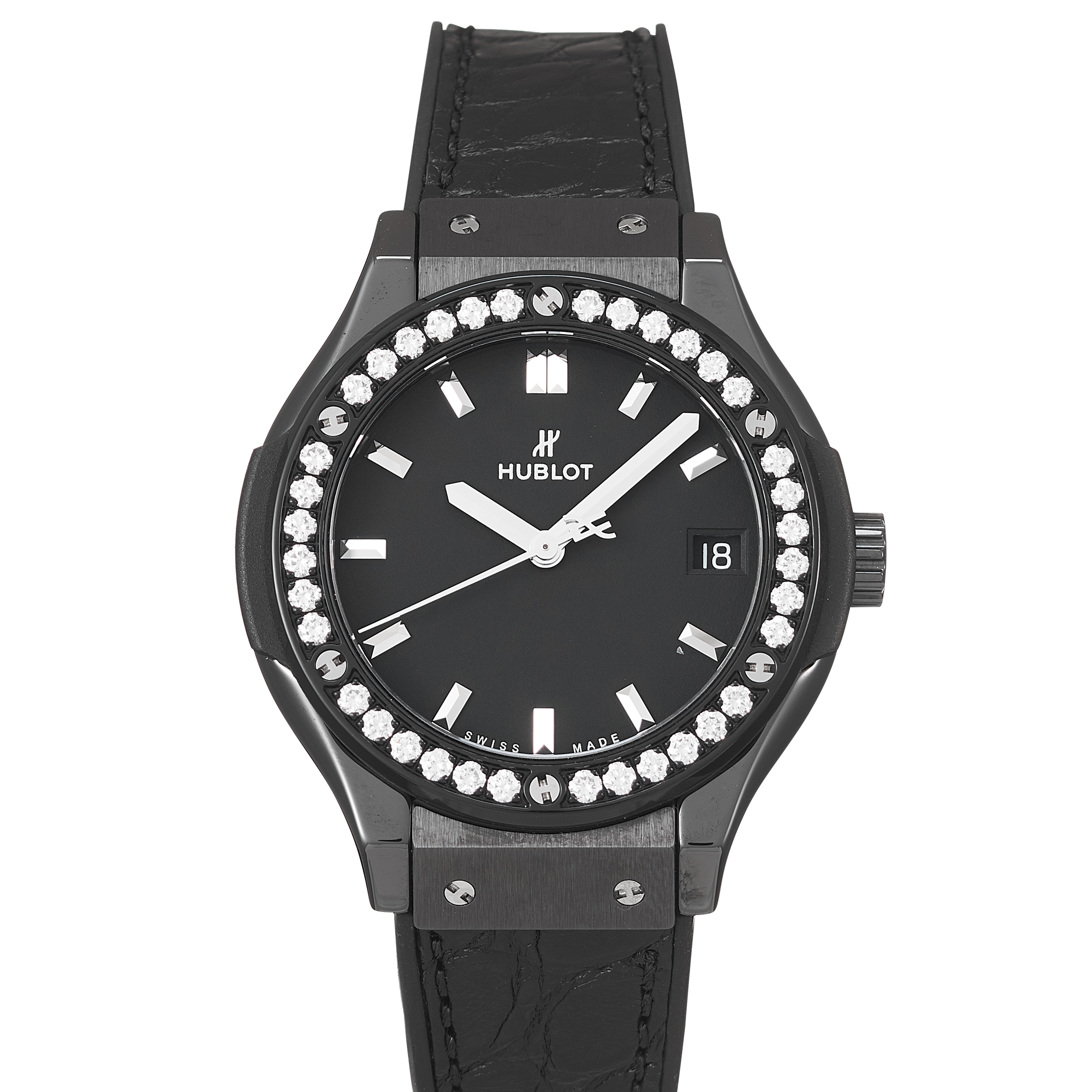 Hublot Classic Fusion Black Magic Ceramic - 581.CM.1171.LR.1104